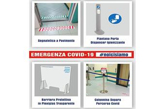 Emergenza COVID-19: Segnaletica